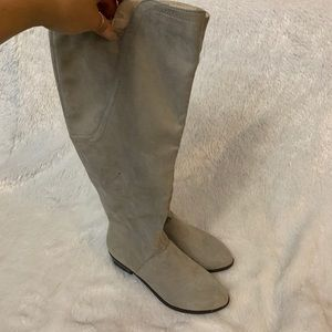 Shoes - Indigo rd. Tan knee high boots size 6